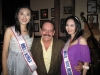 Stevie with Mrs, Universes' Mrs Korea, and Mrs Malaysia  Dec, 8th 2011
