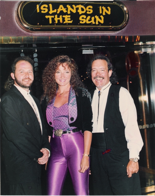 STEVIE LEGEND BAND on board the Tropicale 1993
